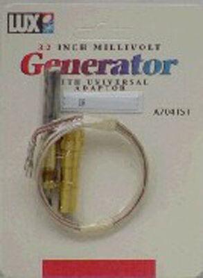 Ace Millivolt Generator 750 mvolts 32 in. Brass Gem-Line ITT General Whiterodgers Honeywell and
