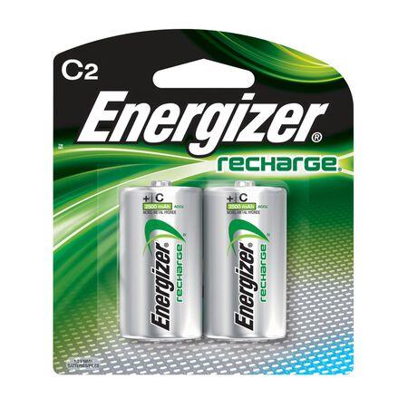 Energizer NiMH C 1.2 volts Rechargeable Batteries NH35BP-2R2