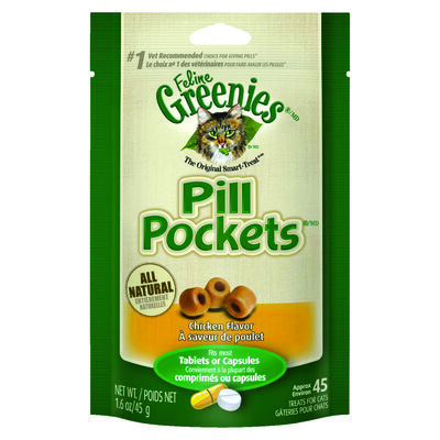 Greenies Pill Pockets Chicken 45