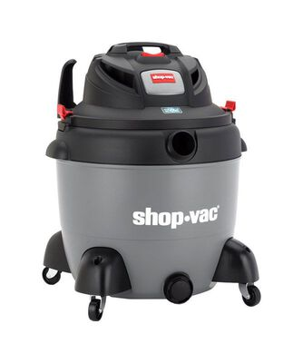 Shop-Vac 18 gal. Corded Wet/Dry Vacuum 6.5 hp 110 volts Gray