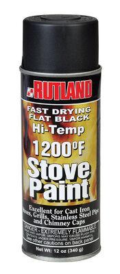 Rutland Black Stove Paint Spray