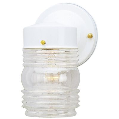 Westinghouse 1 lights White Outdoor Wall Lantern