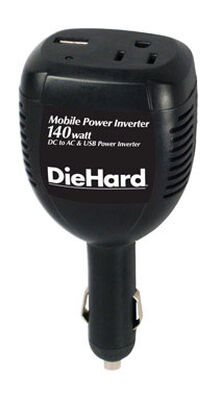 Diehard 110 volts 140 watts Electric Inverter