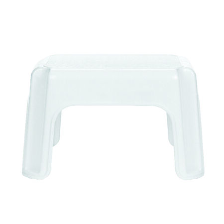 "Rubbermaid Step Stool 300 Lb. Capacity 9.5"" HX12.5"" WX15.5"" L White"