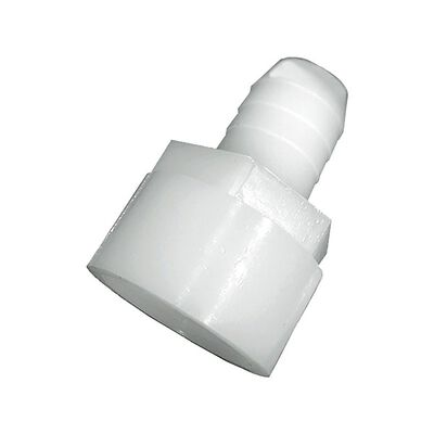 Green Leaf Nylon Adapter 1/4 in. Dia. x 3/8 in. Dia. White 5 pk
