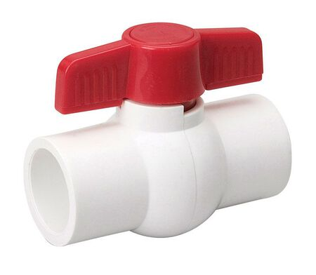 Mueller Ball Valve 1/2 in. Dia. PVC