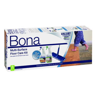 Bona Dry/Wet Floor Care Kit 15 in. W