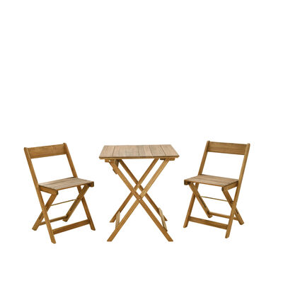 Linon Home Decor 3 pc. Acacia Bistro Set