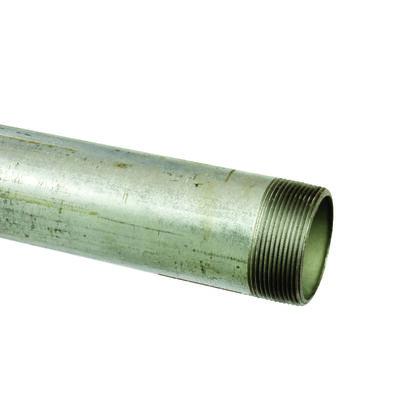 Ace 2 in. Dia. x 60 in. L Gray Galvanized Pre-Cut Pipe