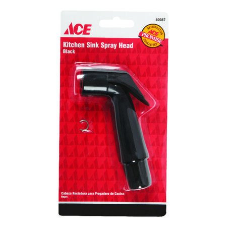 Ace Black Plastic Sink Spray Head