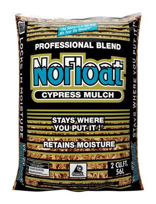 No Float Cypress Blend Mulch Earthtone 2 cu. ft. 12 sq. ft.