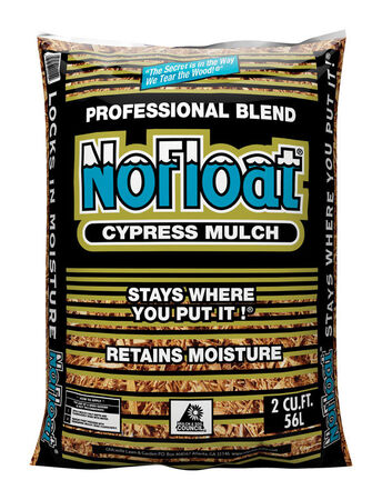 No Float Cypress Blend Mulch Earthtone 2 cu. ft. 12 sq. ft.