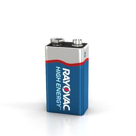Rayovac 9V Alkaline Batteries 9 volts 8 pk