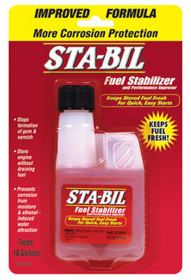 Sta-Bil Storage Fuel Stabilizer 4 oz.