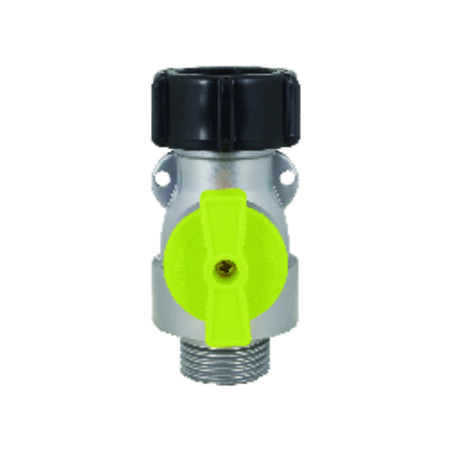 Ace Metal Hose Shut-off Valve Male Threaded
