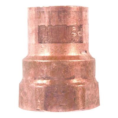 Elkhart 1/2 in. Dia. x 1/2 in. Dia. Copper To FIP Copper Pipe Adapter