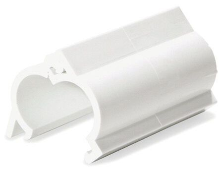 Snap-Fix 1/2 in. Dia. x 1/2 in. Dia. Slip To Spigot PVC Snap Fix Coupling