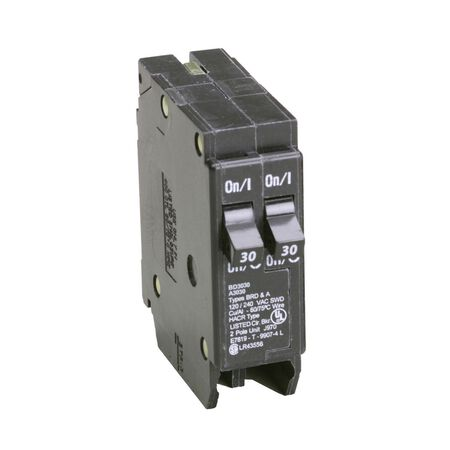 Eaton HomeLine Tandem/Single Pole 30/30 amps Circuit Breaker