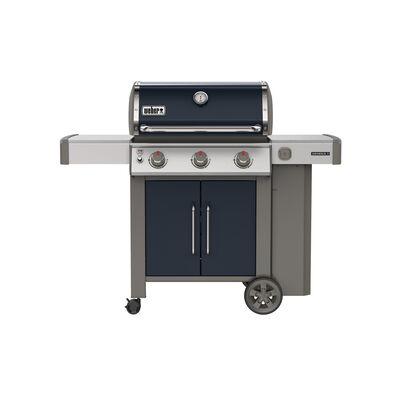 Weber Genesis II E-315 3 burners Propane Grill Indigo 39000 BTU
