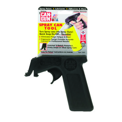 Can Gun Aerosol Spray Can Handle Polypropylene Copolymer Airless 5 in. H