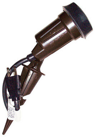 Sigma Electric Plug In Halogen Spike Light Bronze 150