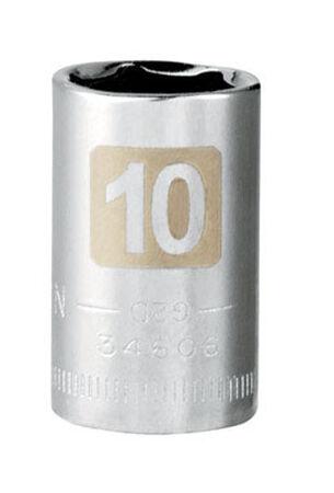 Craftsman 10 Alloy Steel Standard Socket 1/4 in. Drive in. drive