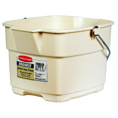 Rubbermaid 15 qt. Roughneck Bucket Bisque
