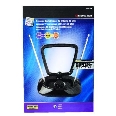 Monster Cable VHF Indoor Television Antenna Mast 1