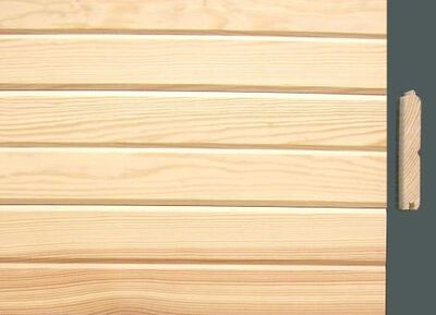 "Pine Siding D - Grade #116 1"" x 6"" x 8'"