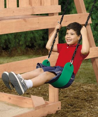 Swing seat child commercial 350 lb