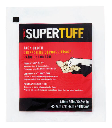 Supertuff Tack Cloth 18 in. L x 36 in. W Cotton