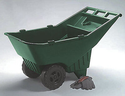 Rubbermaid 4-3/4 cu. ft. HDPE Lawn Cart 200 cu. ft.
