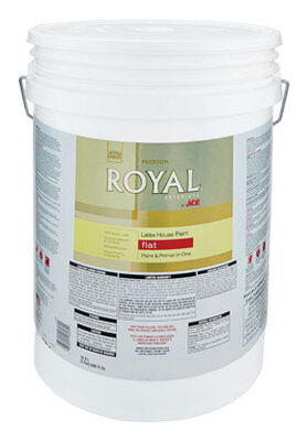 Ace Royal Acrylic Latex House Paint Flat 5 gal.