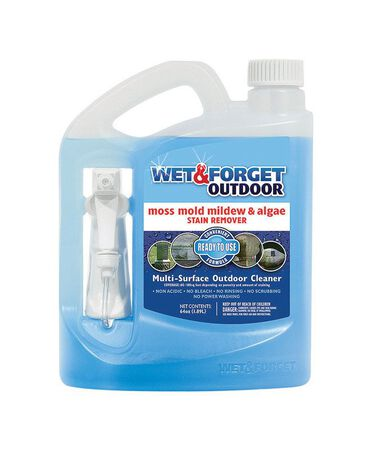 Wet & Forget Outdoor Mold and Mildew Stain Remover 64 oz.