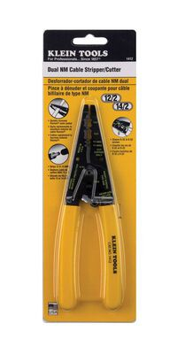 Klein Tools 196 mm L Dual NM Cable Stripper/Cutter