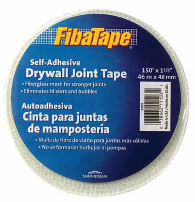 FibaTape Drywall Joint Tape Fiberglass Mesh Self Adhesive 1-7/8 in. W x 150 ft. L