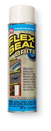 Flex Seal Satin Off White Rubber Spray Sealant 14 oz.