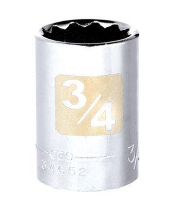 Craftsman 3/4 Alloy Steel 1/2 in. Drive in. drive Socket Standard