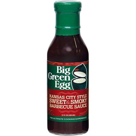 Big Green Egg BBQ Sauce- Kansas City Sty