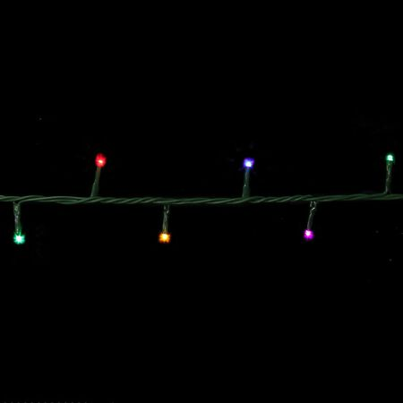 Celebrations 3mm Garland-Style LED Light Set Multicolored 16.5 100 lights