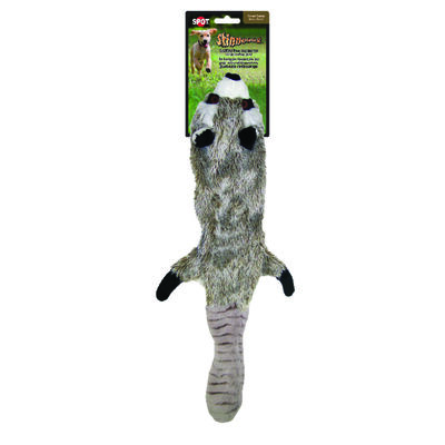 Skinneeez Plush Raccoon Dog Toy Large