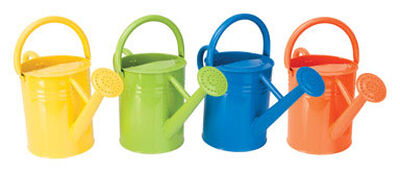 Panacea 2 gal. Metal Assorted Watering Can
