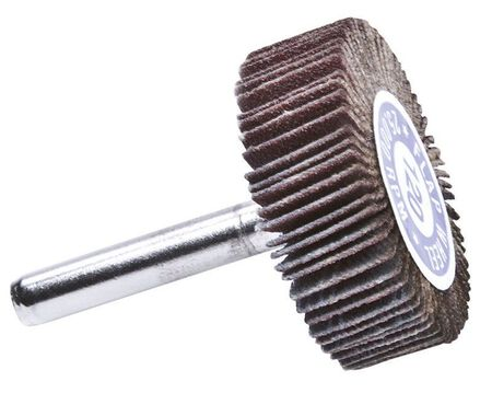 Forney 1-1/2 in. Dia. x 1/4 in. Aluminum Oxide Flap Wheel 120 Grit