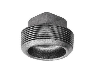 B & K 2 in. Dia. MPT Galvanized Malleable Iron Plug