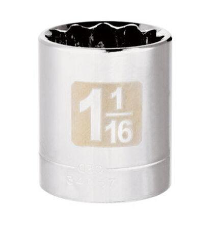 Craftsman 1-1/16 Alloy Steel 1/2 in. Drive in. drive Standard Socket