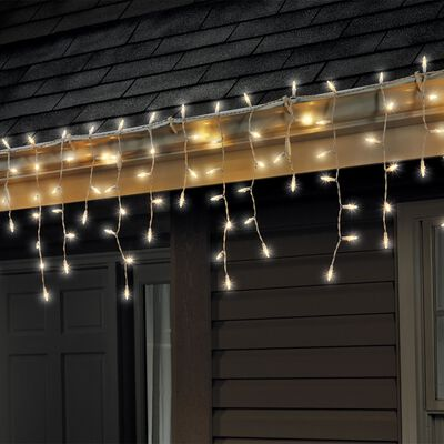 Celebrations Traditional LED Mini Light Set Warm White 6 ft. 100 lights