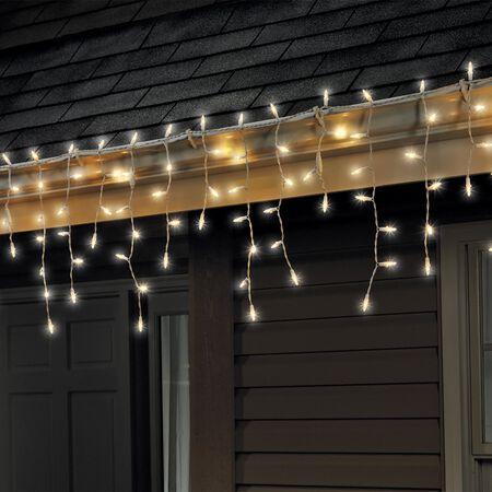 Celebrations Traditional LED Mini Light Set Warm White 6 ft. 100 lights