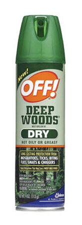 Deep Woods OFF! Insect Repellent DEET 25% Spray 4 oz.