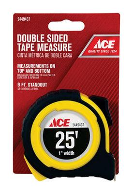Ace Tape Measure 1 in. W x 25 ft. L
