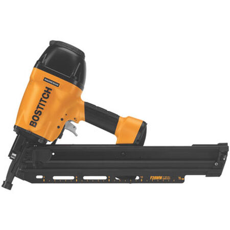 BOSTITCH F28WW Clipped Head 2-inch to 3-1/2-inch Framing Nailer with Magnesium Housing